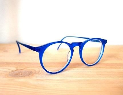 Bright Blue Glasses Frames : Etsy eyewear - Shop for Etsy eyewear on Stylehive