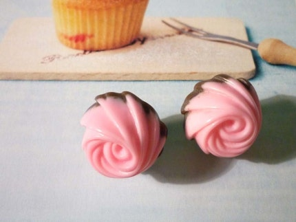 Strawberry Chocolate Earrings