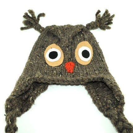 What a Hoot Knit Owl Hat