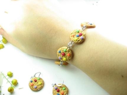 Rainbow Cookie Bracelet
