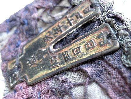 Tetragrammaton. Fabric Cuff.