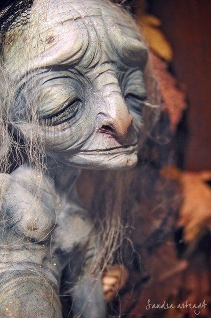 Sheshacabah - art doll fairy fantasy millenarian creature halloween