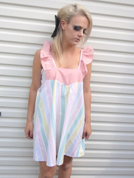 Pastel Ruffle Dress