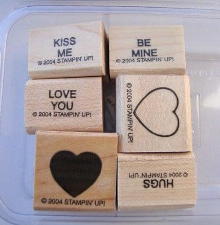 Sweet Talk, Two-Step Stampin, Stampin UP Stamp Set, DESTASH