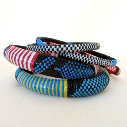 Ethnic Woven  Bracelets in Assorted Colors (e)