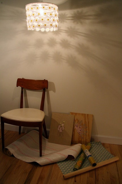 Daisy Chain Shade by nice on Etsy