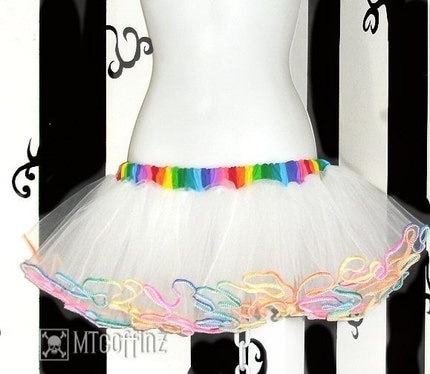 Rainbow Angel TuTu sm