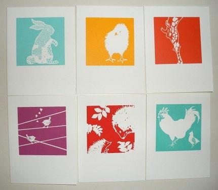 Boxset of Springtime Greeting Cards