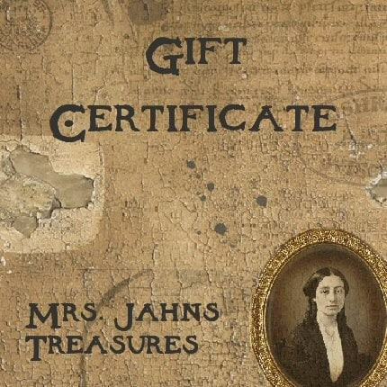 Gift Certificate - Great Gift Idea - No Expiration.