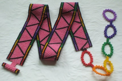 Gay Pride Collar Choker Necklace Pink Triangle