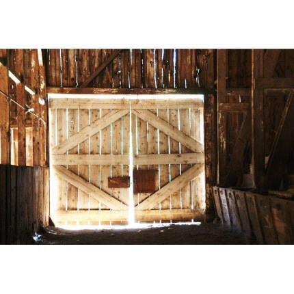 Bldg 6 - Barn Door - 8x12 Signed Photo