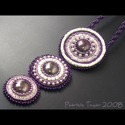Purple Graces Necklace