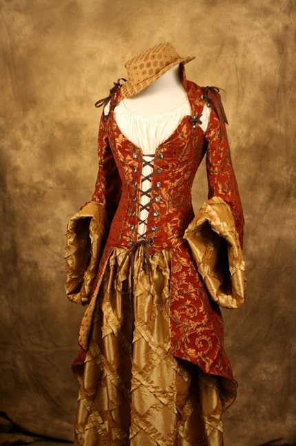 Pirate wedding dress
