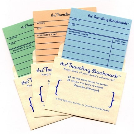 3-Pack of Traveling Bookmarks