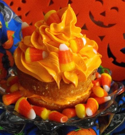 Candy Corn Cupcake Trifle- 16 OZ