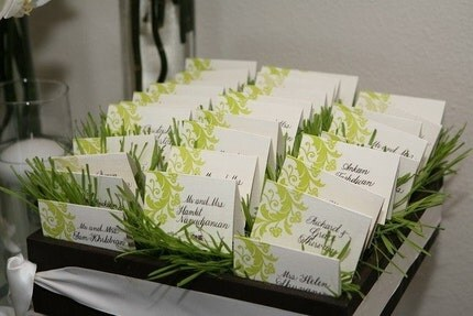 These place cards look like they 39re sprouting right out of the box