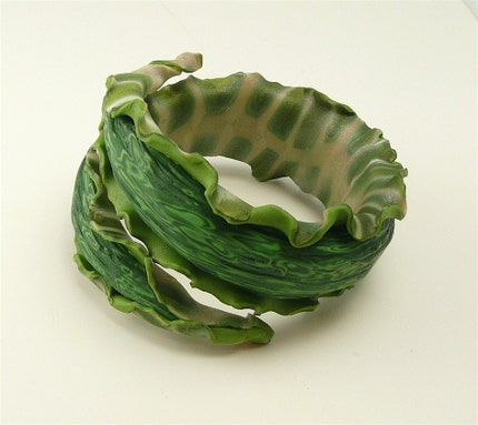 Green Nudibranch Bracelet