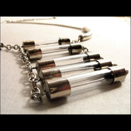 Ladder Industrial Necklace OOAK