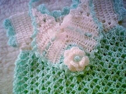 renkli örgülü elişi bebek takımı