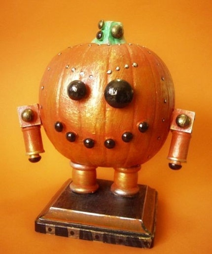 Halloween robot