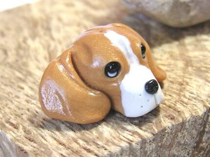 Etsy :: nanjodogz :: Beagle Bead