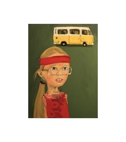 Little Miss Sunshine ... Ode to Olive ... print by elloh