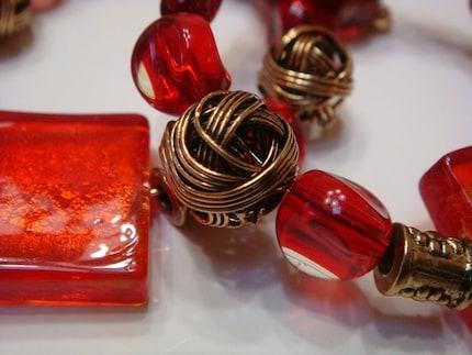 Valentine's Red Napkin Rings SALE