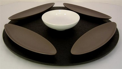 Turnadaisy Pro 24 inch Recycled lazy susan style display or work turntable for Bonsai Artists and countless other uses