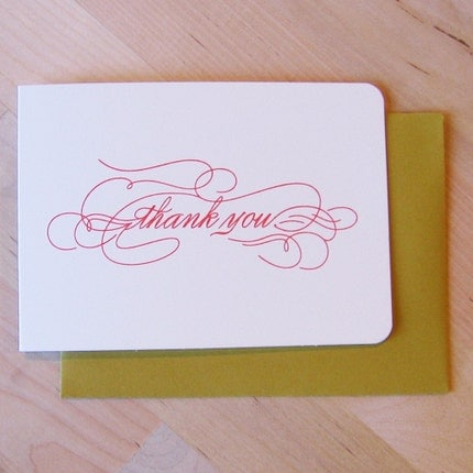 il 430xN.45498933 Etsy Round Up   Thank You Cards, part 2