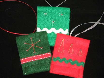handmade Christmas gift card holders picture