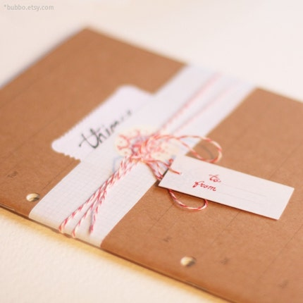 LEDGER craft notebook A5