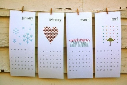 Print and Give - 2009 Printable Calendar