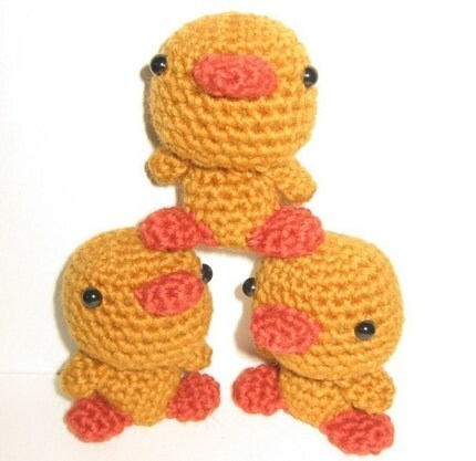 Tiny Amigurumi Duck