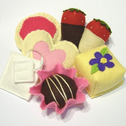 Tea Party Sweets PDF Pattern