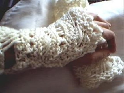 Lacy Arm Warmers