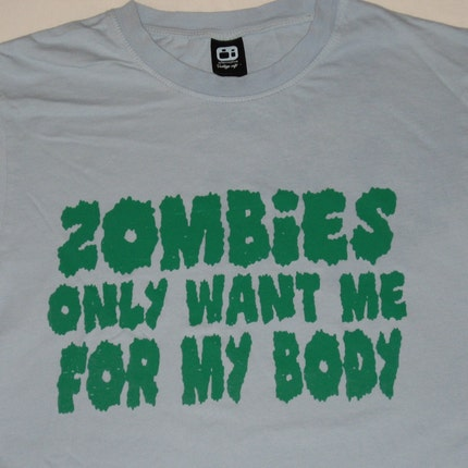 Zombies tee (guys and girls)