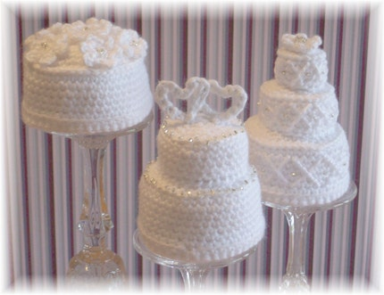Etsy Find Crochet Mini Wedding Cakes Posted in Uncategorized