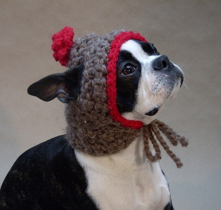 Gretel's Warm and Thick Dog Hat - Size Medium