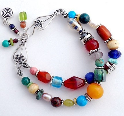 StudioJewel Double-Strand bracelet from Petra Museum Exhibit