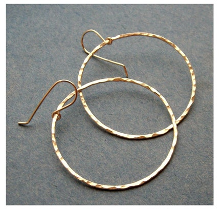 <br />jewelry, earrings, hoop, metal, metalwork, hammered, textured, round, circle, organic, pawandclawdesigns, fine silver, sterling silver, rustic
