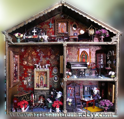 Dia De Los Muertos Dollhouse