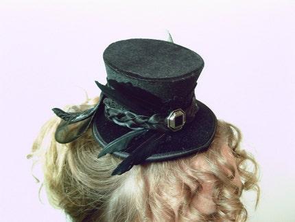 Femme Fatale Black Victorian Riding Goth Burlesque