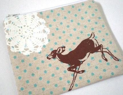 Lace Deer Wallet