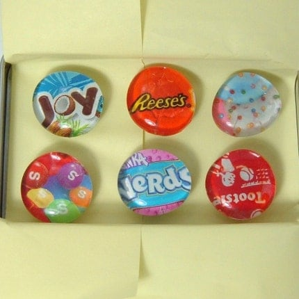 Little Yummies Magnet Set