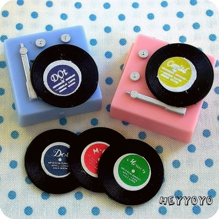 Record Player Toppers
