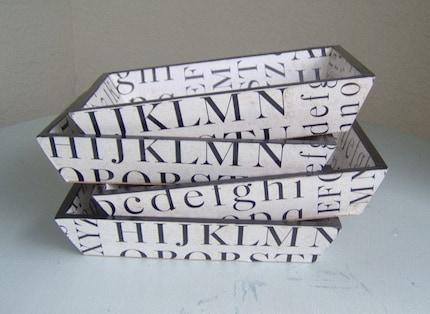 Fabulous Fonts Wood Tray