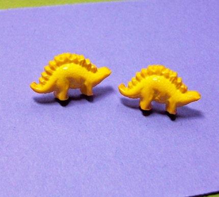 Stegosaurus Dinosaur Earrings BUY 3 GET 1 FREE