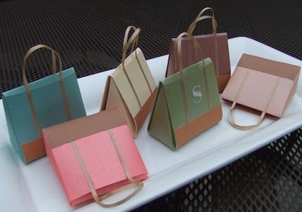 Monogrammed Designer Mini Handbag- Card and Gift Holder KendrasKollection