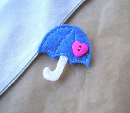 Rain Go Away Brooch
