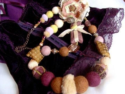 Sugar Plum Necklace